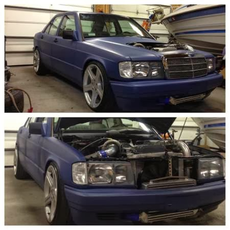 Daily turismo 5k 2jz g190e 1991 mercedes benz 190e w201 w engine donor toyota and should be fun to throw around a track the interior is scruffy and needs a good cleaning but would be fine for a daily hooner sciox Gallery