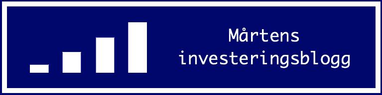 Mårtens investeringsblogg