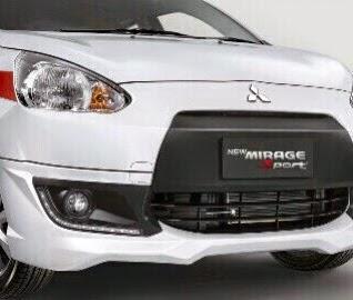 warna Mitsubishi Mirage GLS SPORTY 2015