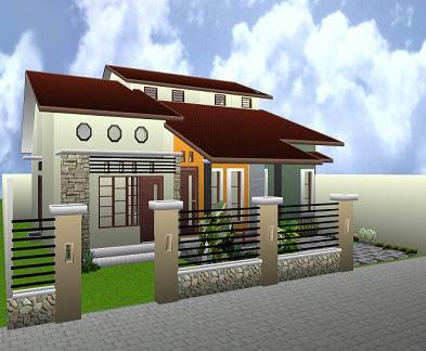 Bentuk Desain Rumah on Rumah Minimalis   Gambar Desain Rumah Minimalis Modern