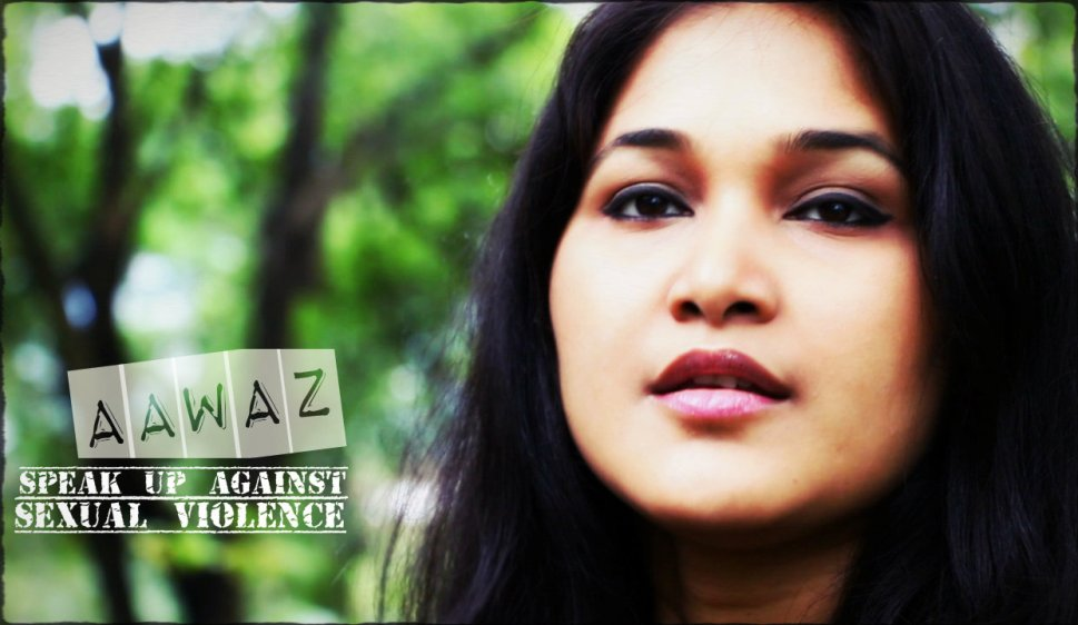 Queen Hazarika in 'Aawaz - speak up against sexual violence' | a song by Jim Ankan Deka