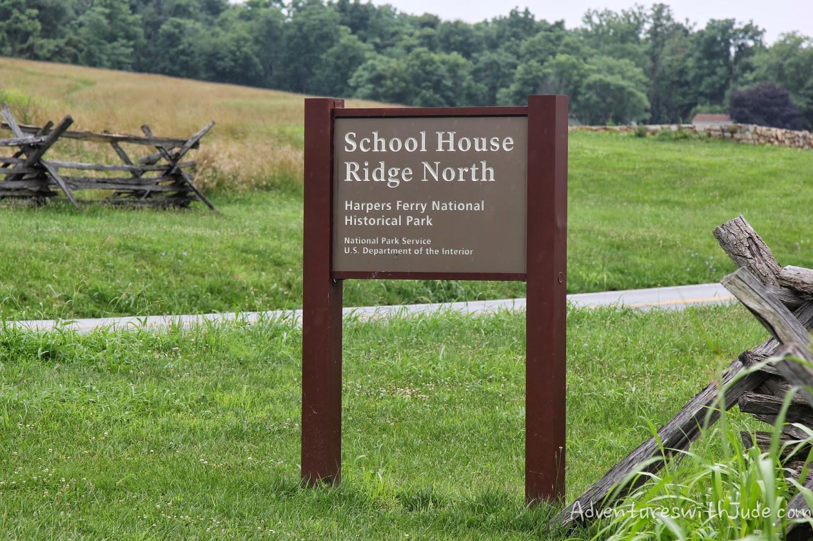 School House Ridge, Harpers Ferry WV