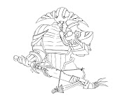 #1 Dota 2 Coloring Page