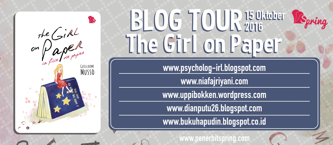 Blogtour & GA - THE GIRL ON PAPER