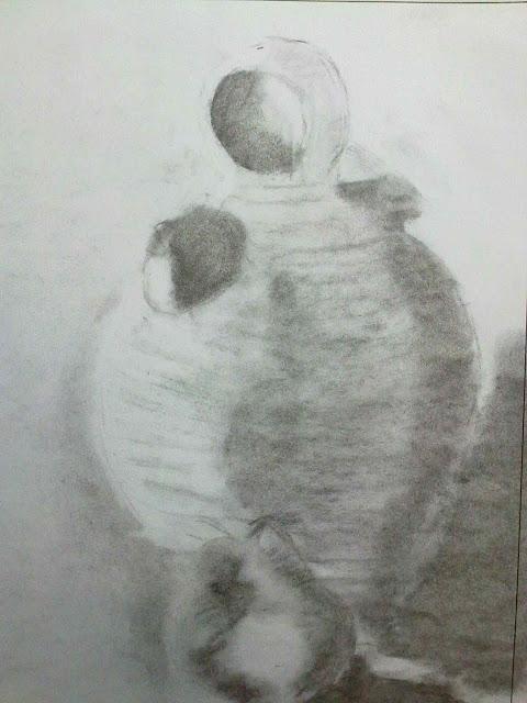 dibujo blanco y negro