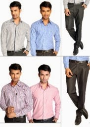 Buy Pack of Six Exclusive Formal wear – Bhilwara Suitings For Men at Flat 67% off and Extra 19% off at Homeshop18