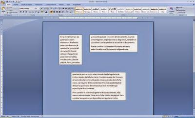 Cuadros de texto vinculados