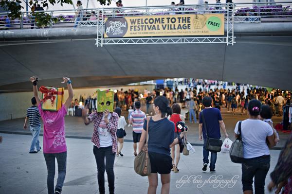 artsfest festival village