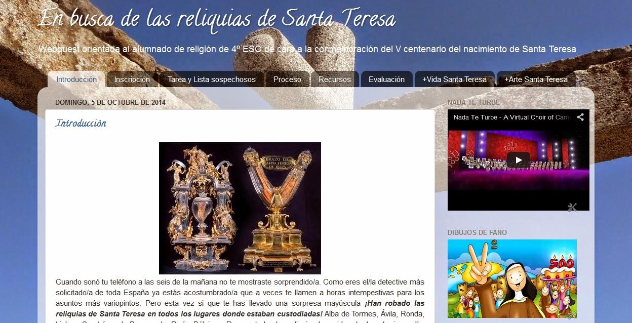 http://webquestsantateresa.blogspot.com.es/