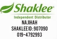 Saya Pengedar Sah Shaklee Penang/Kedah