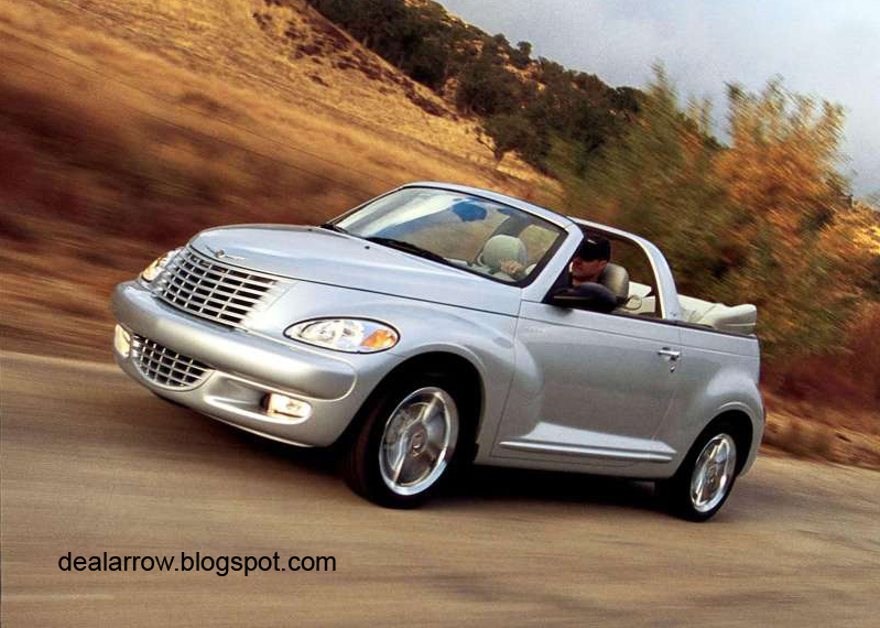 dealarrow 2005 pt cruiser convertible. Black Bedroom Furniture Sets. Home Design Ideas
