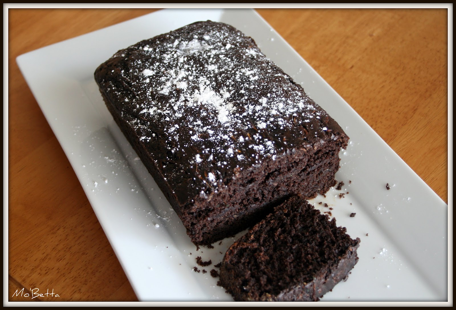 Makin' it Mo' Betta: Dark Chocolate Zucchini Bread