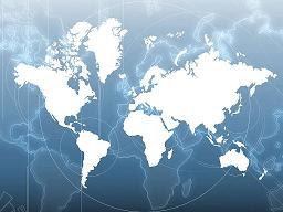 Mapa Mundi do IBGE
