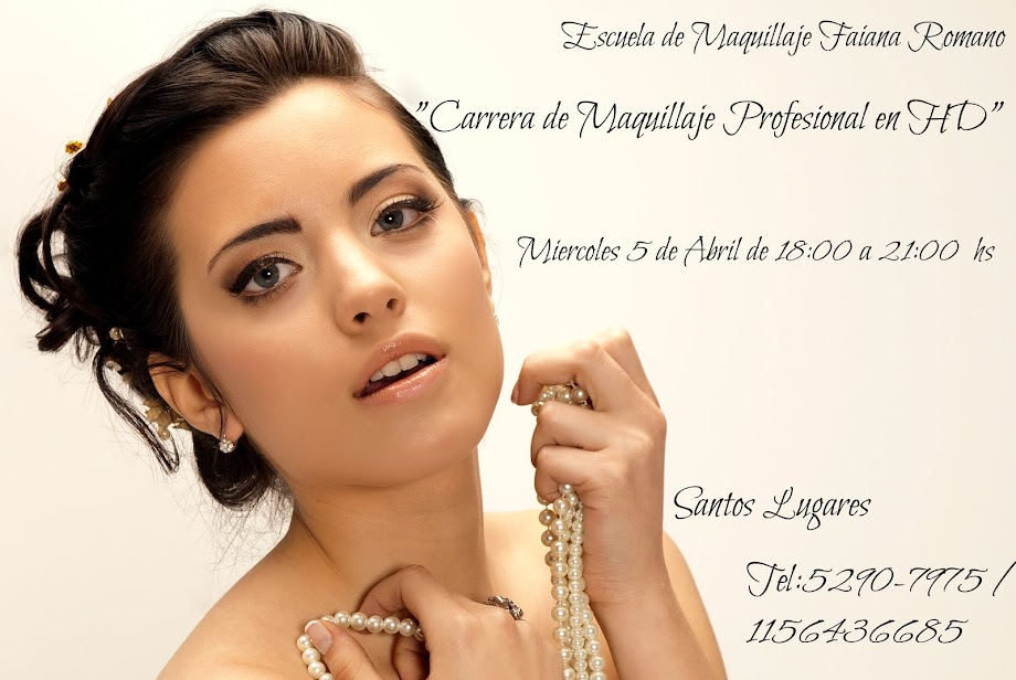 Carrera Anual de Maquillaje Profesional, en HD.