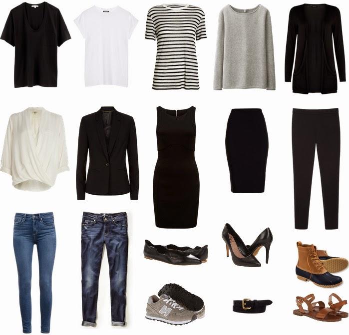 wardrobe basics 2015 2