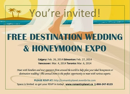 RSVP to the honeymoon and destination wedding expo here