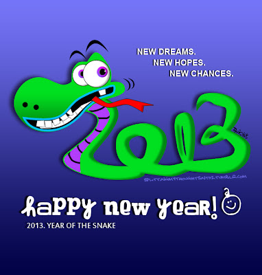 new year 2013 year of the snake