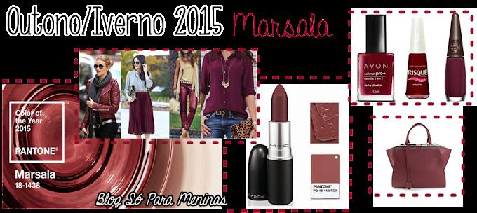 Cor do Outono/Inverno 2015 - MARSALA