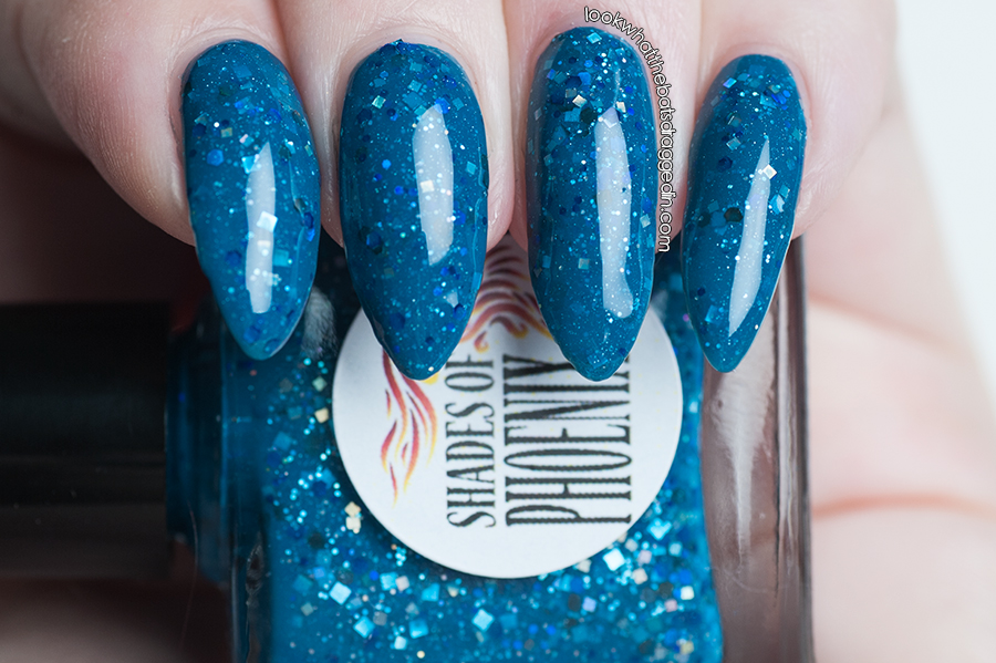 Shades of Pheonix Paint me Blue by The Reluctant Femme