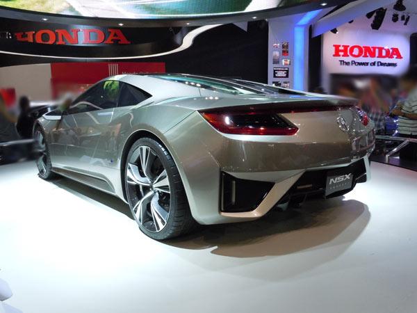 Honda NSX Concept - Visual sofisticado