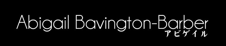 Abigail Bavington-Barber
