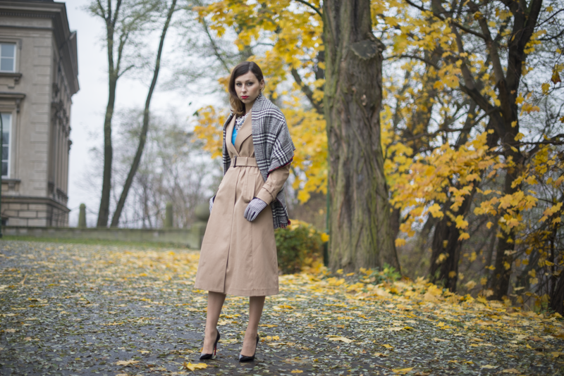 trench coat fashion blog