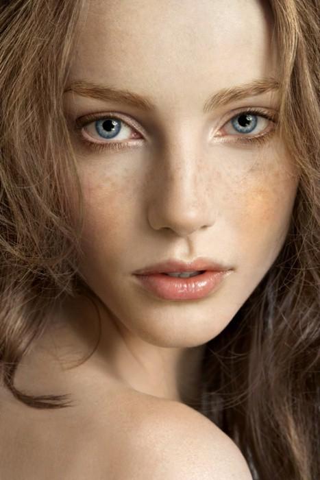women model blonde freckles - photo #28
