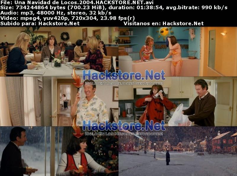 Captura Una Navidad de Locos (2004) DVDRip Latino
