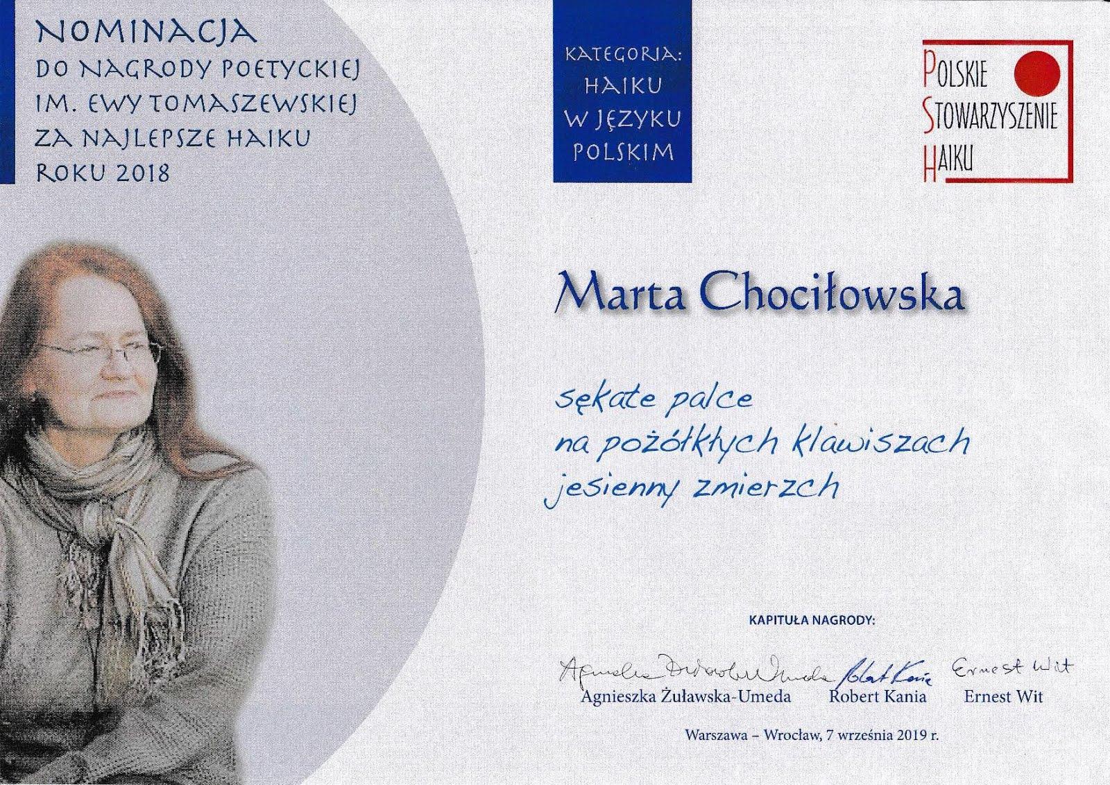 Nominacja do NET