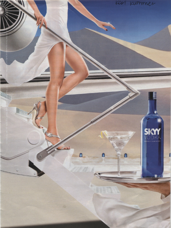 skyy vodka advertisement analysis