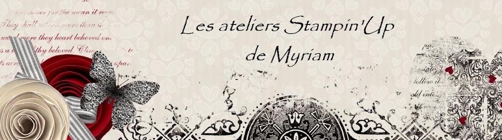 Les ateliers Stampin'Up de Myriam