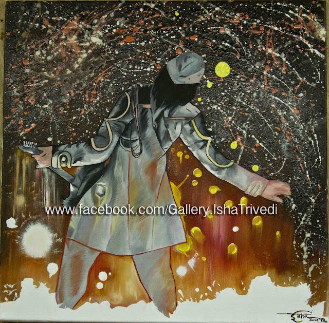 """Rockstar Painting by Isha Trivedi """"Isha Trivedi"""""""
