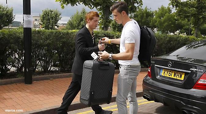 Gareth Bale Telah Tiba di Spanyol