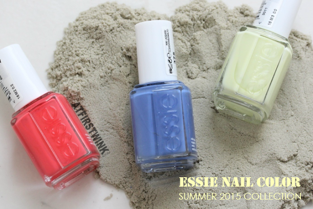 Essie Summer 2015: sunset sneaks, pret-a-surfer, and chillato (review + swatches)