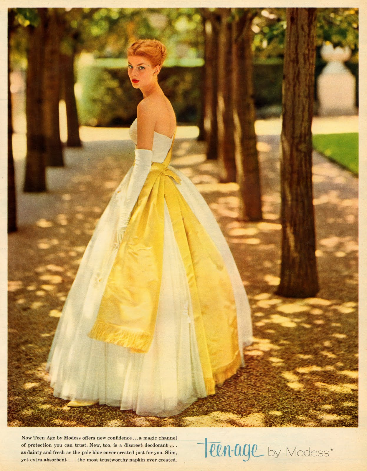 17 bright and colorful fashion adverts from 39 seventeen Wedding dress 1960