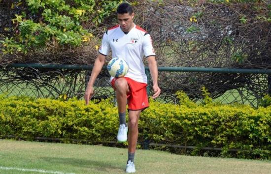 Depois de quatro meses, Alan Kardec volta a treinar com bola no São Paulo