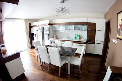 comedor cocina apartamento moderno