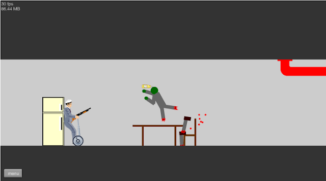 Happy WHeels level editor menu system