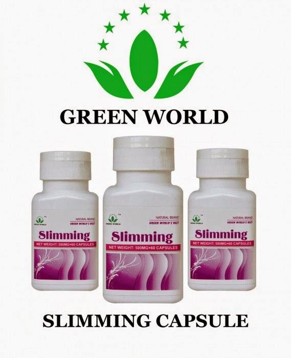 Harga Green World Slimming Capsule Asli