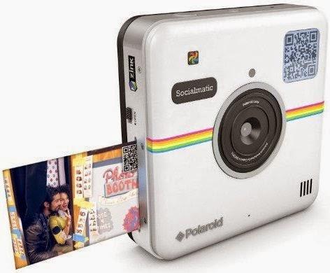 Câmera digital, Polaroid, Socialmatic, CES 2015, Android, gadgets, fotografia