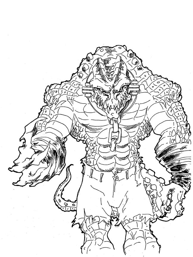 killer croc coloring pages suicide squad killer croc coloring pages coloring pages