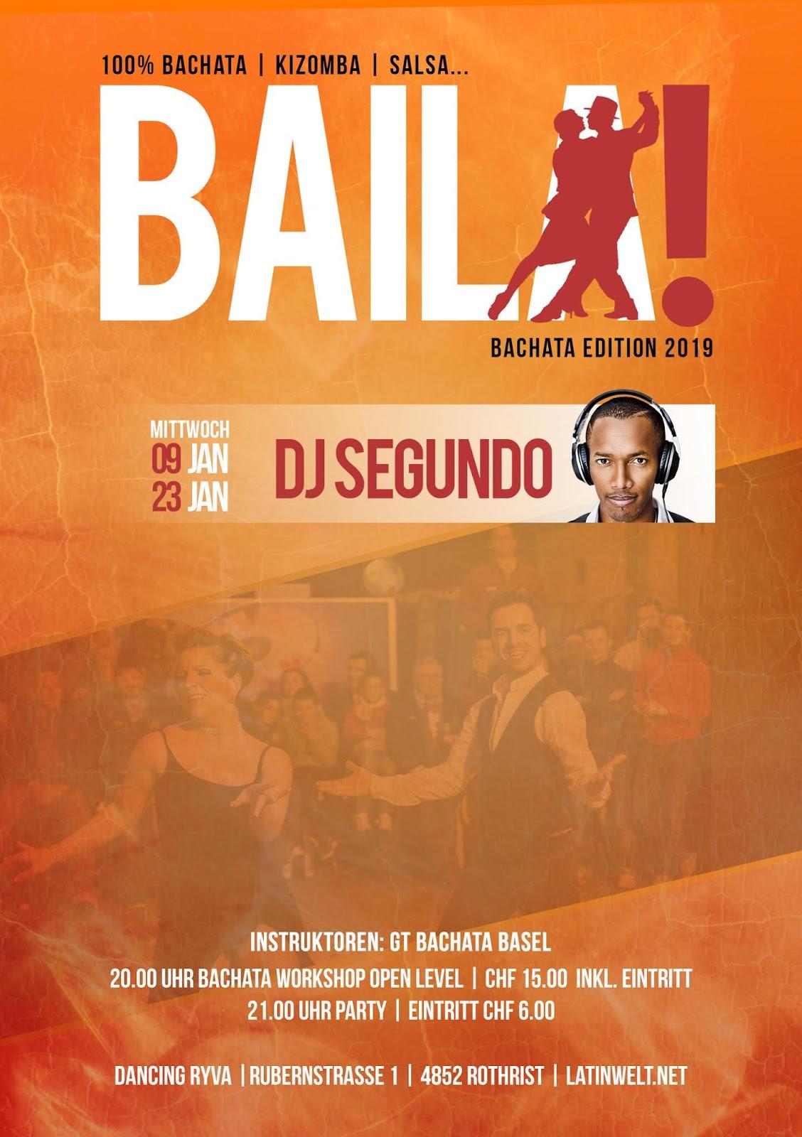 Baila, Bachata Edition!