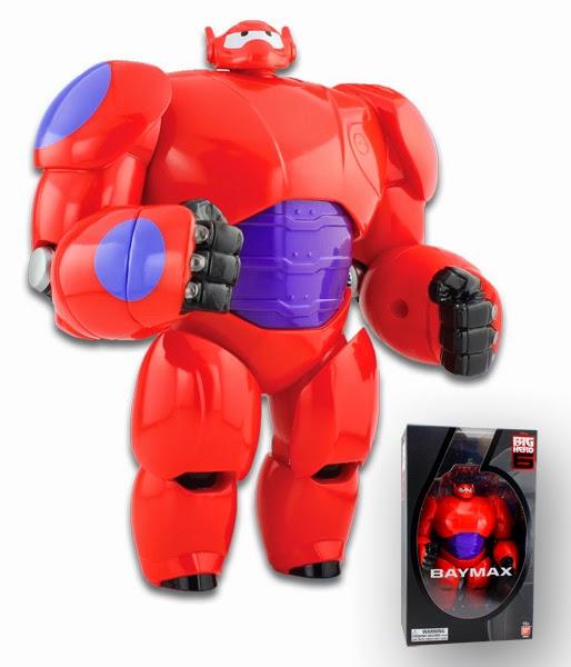 Big Hero 6 Baymax Punching Action Figure