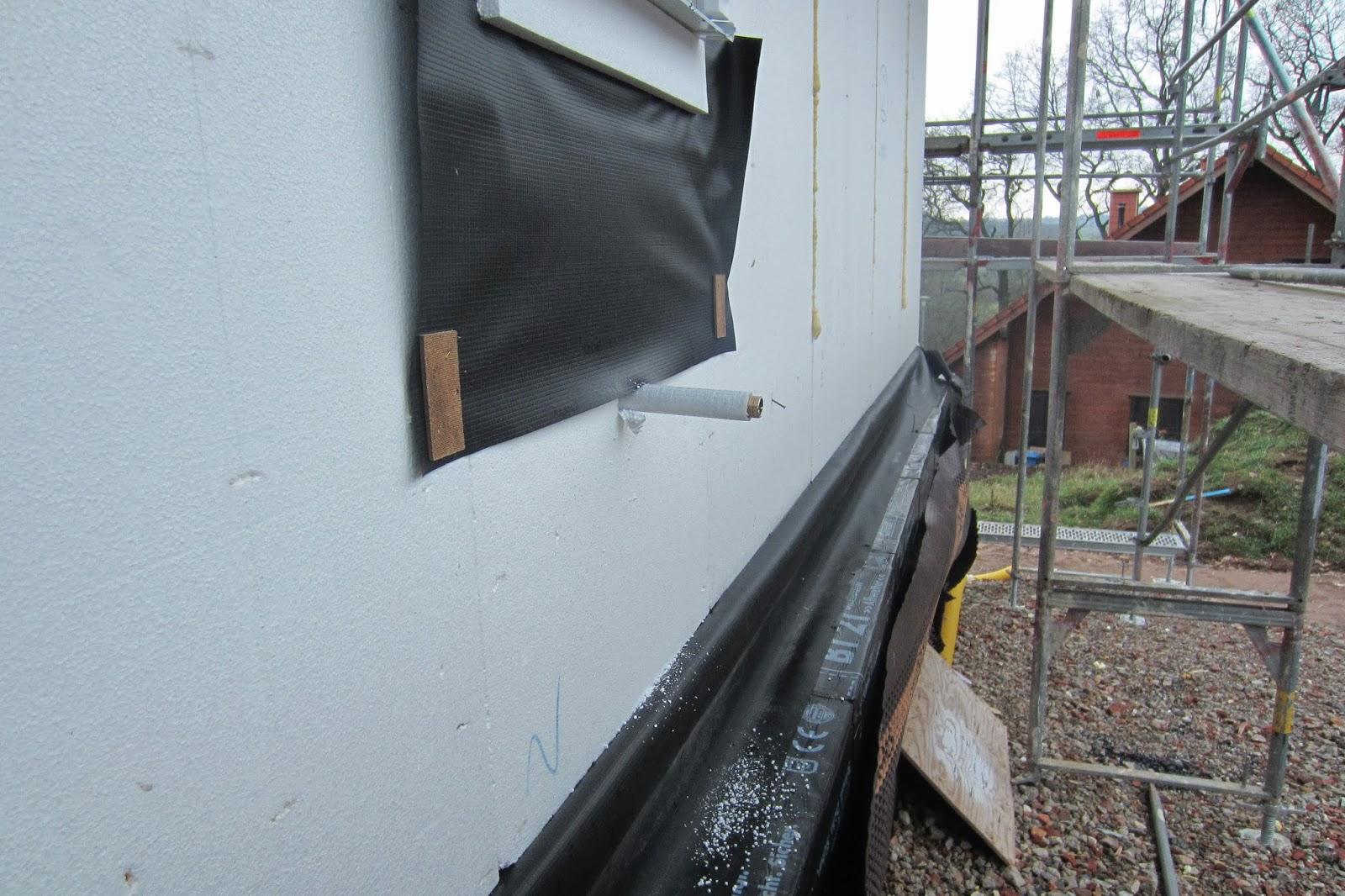 Our Family Dream House Outdoor Tap Installation Außenzapfstelle