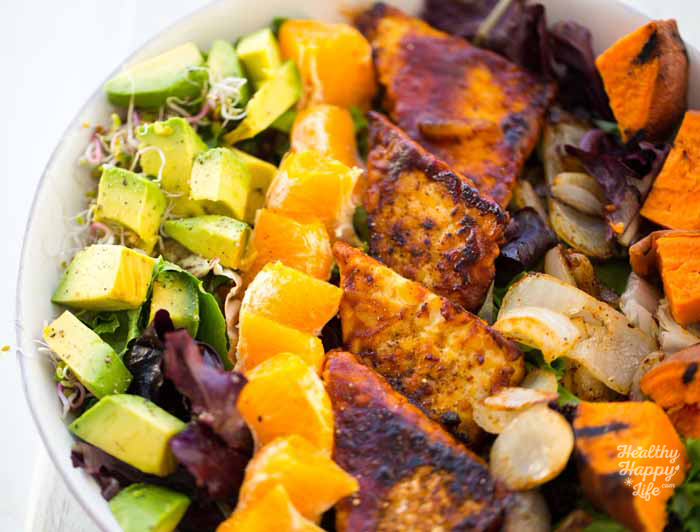 Image result for Salad with Tempeh