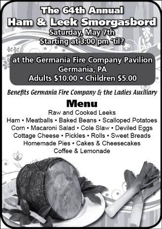 5-7 Germania Ham & Leek Smorgasbord
