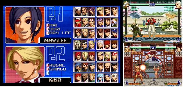 King of Fighters 2002 Magic plus 2 (Portable) 1 LINK (Pc)