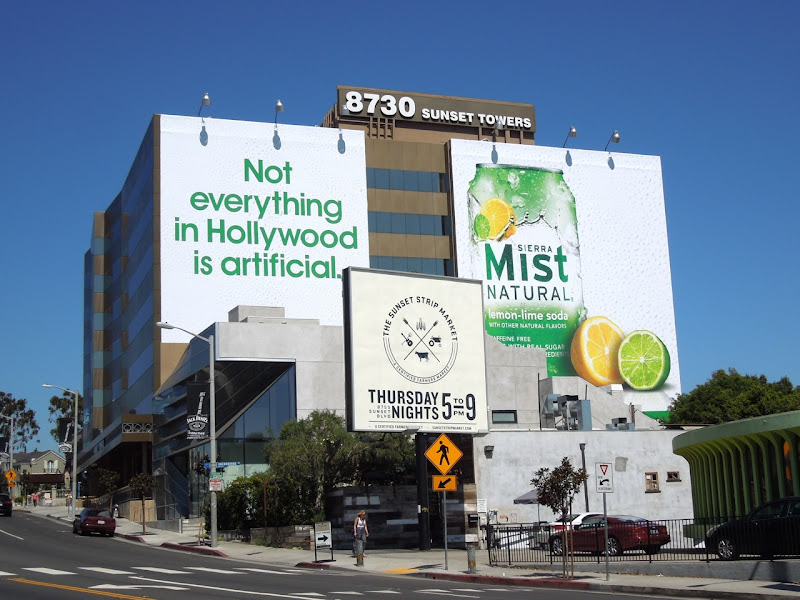 Sierra Mist Natural billboards