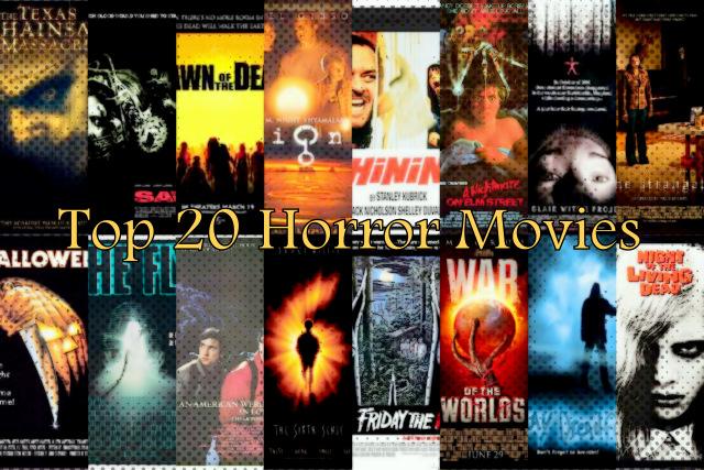 Top 10 Liste: Die 25 besten Horrorfilme aller Zeiten ab