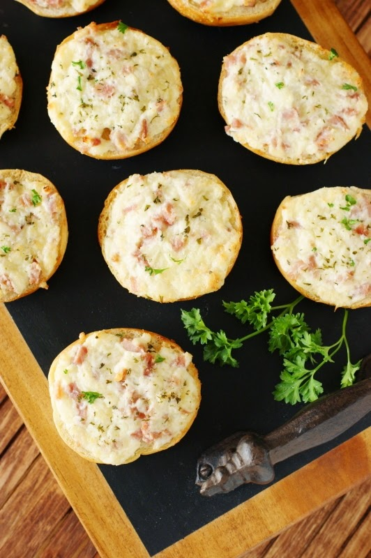 Ham & Cheese Mini Bagel Bites